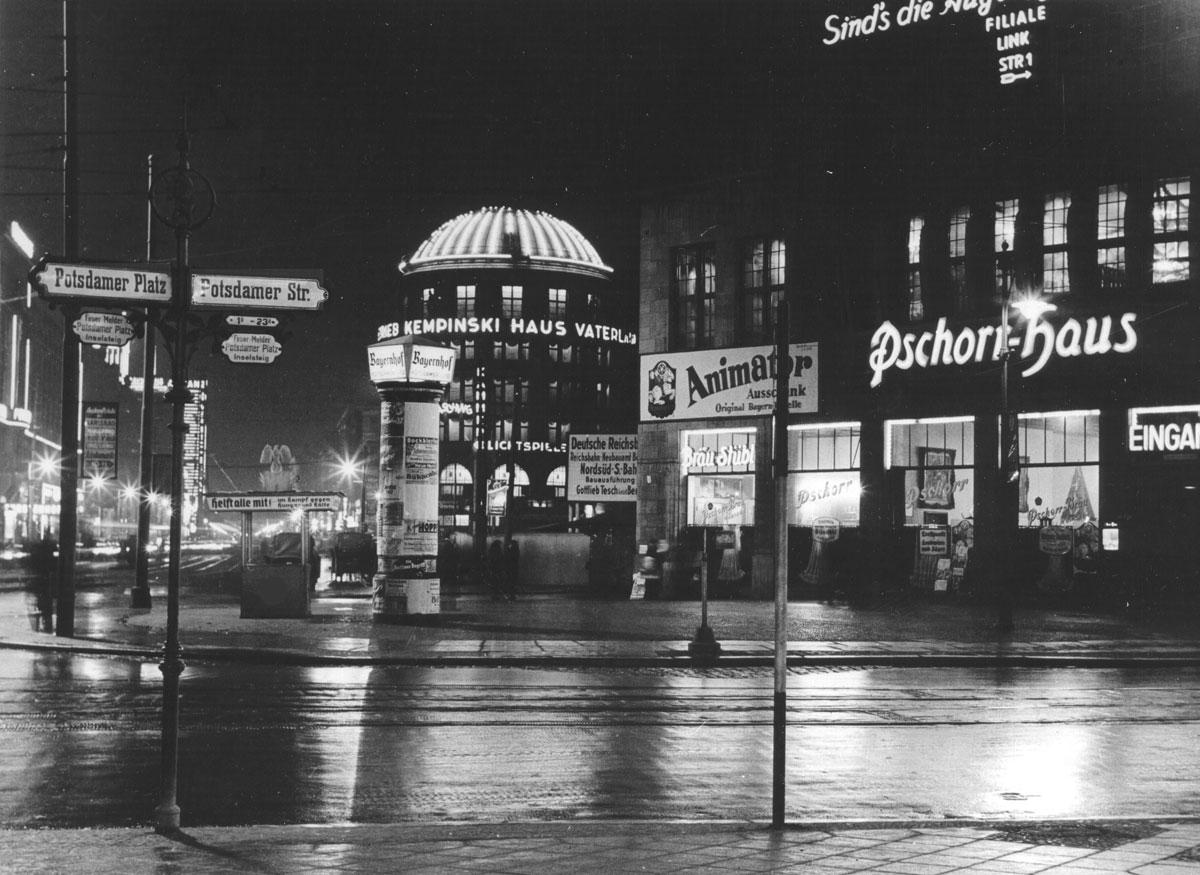 Potsdamer Platz 1 vor 100 Jahren