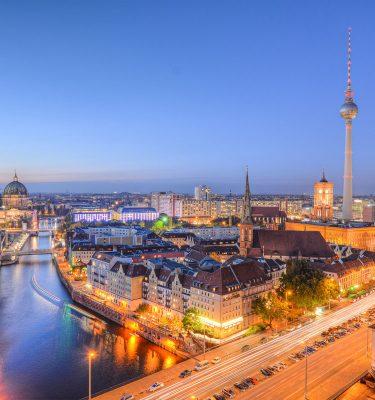 Blaue Stunde Berlin