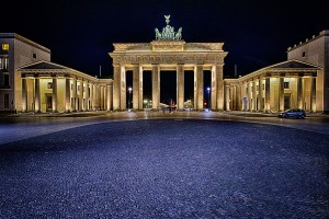 Das Brandenburger Tor Berlin