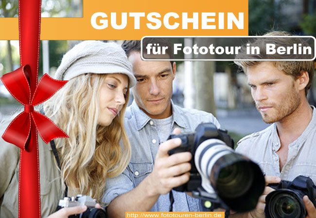 Gutschein Fototour Berlin