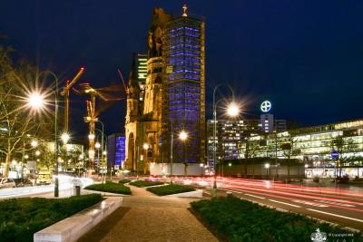 Gedächtniskirche (Charlottenburg) - Sehenswürdigkeiten Berlin