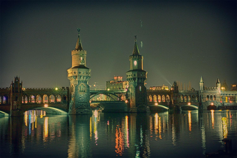 Oberbaumbrücke nachts