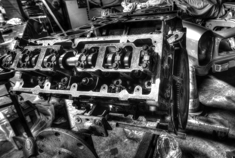 Mercedes SL Pagode Motor