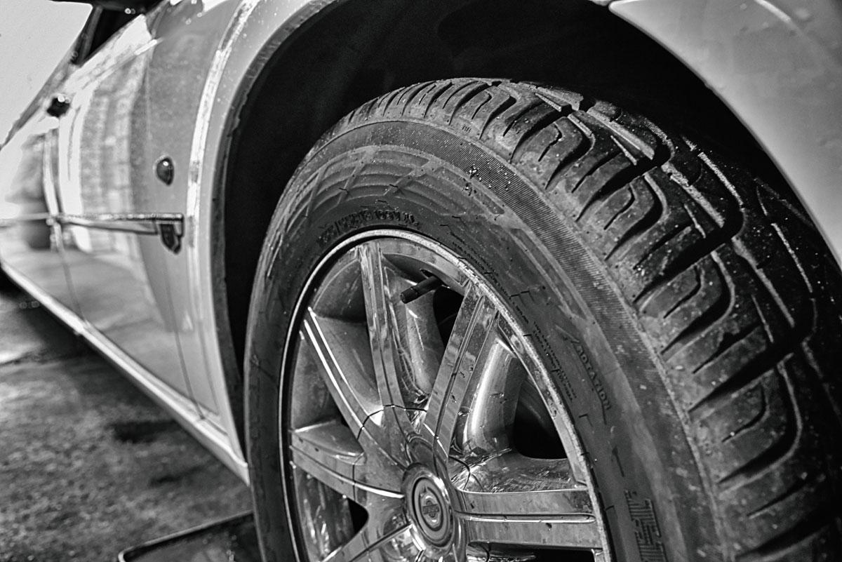 Stretchlimo Reifen