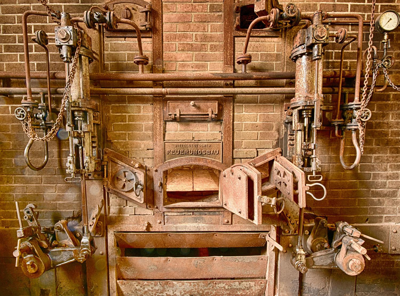 Brikettfabrik Feuerungsbau
