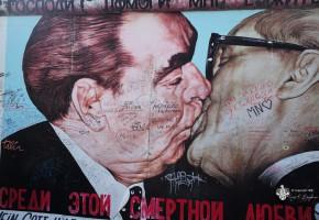 East Side Gallery Bruderkuss - Sehenswürdigkeiten Berlin