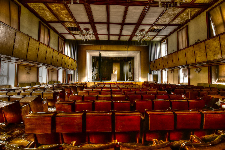 Internat Kinosaal