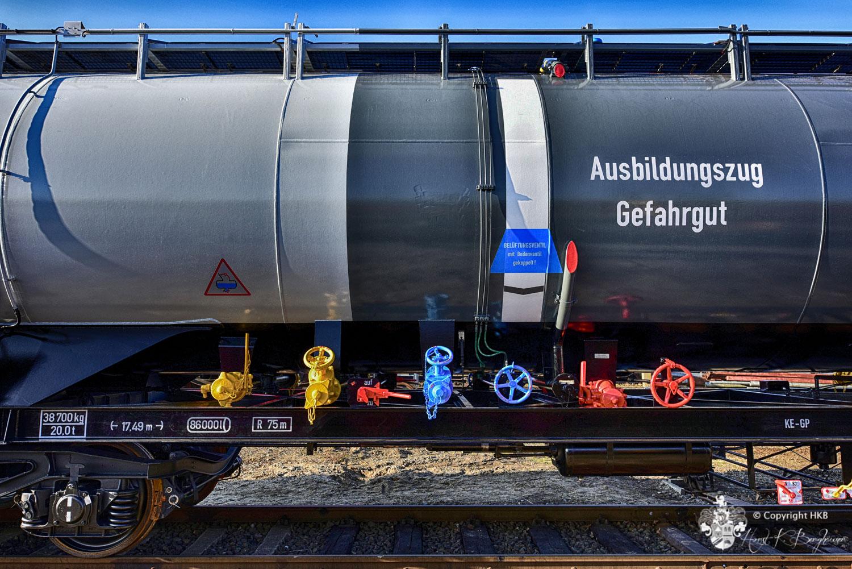Ausbildungszug Gefahrgut der Deutschen Bahn