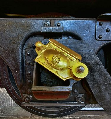 Bahn Netz Gold