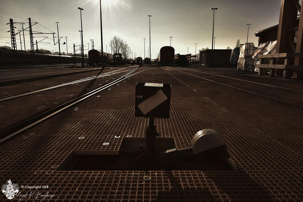 Bahn Stellweiche