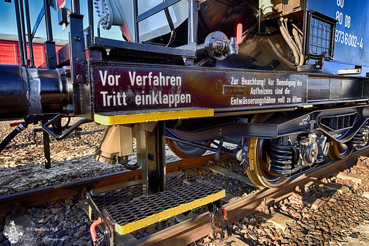 Bahn-Waggon Tritt