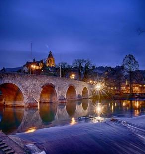 Wetzlar Lahnbrücke Dom