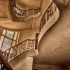 Treppenaufgang im Haus der Offiziere Wünsdorf