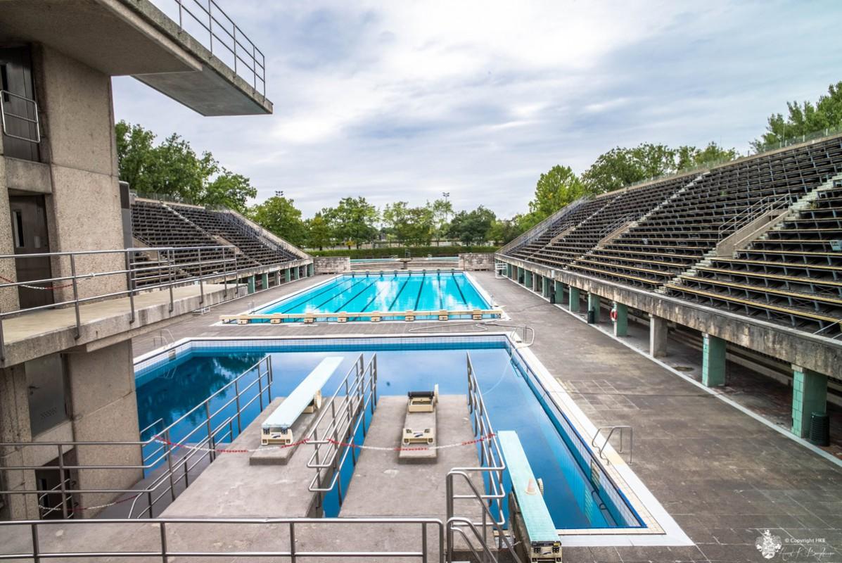 Schwimmstadion im Olympiastadion Berlin