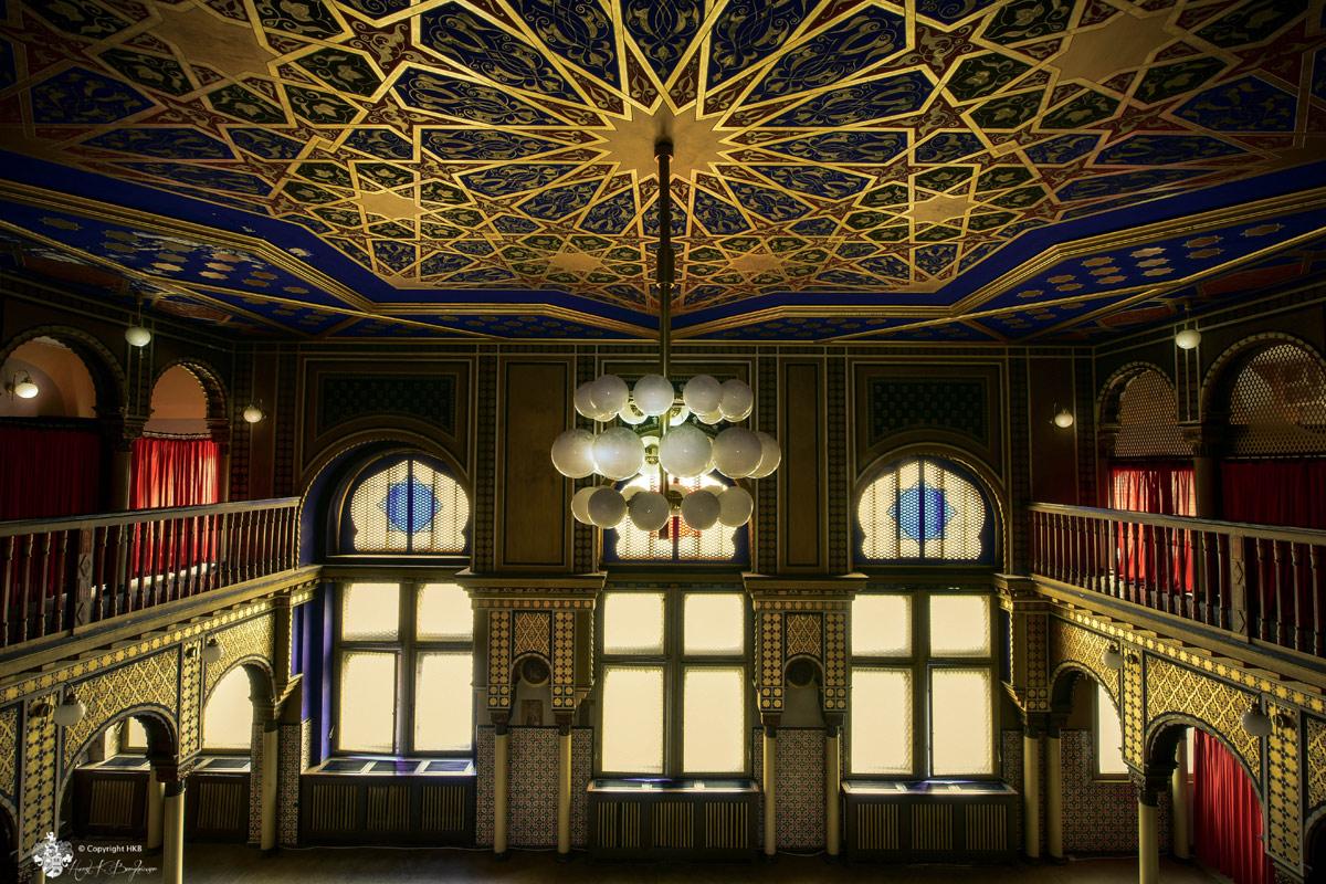 Stadtbad Leipzig - Damensauna Lampe