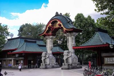 Zoo Berlin Elefantentor