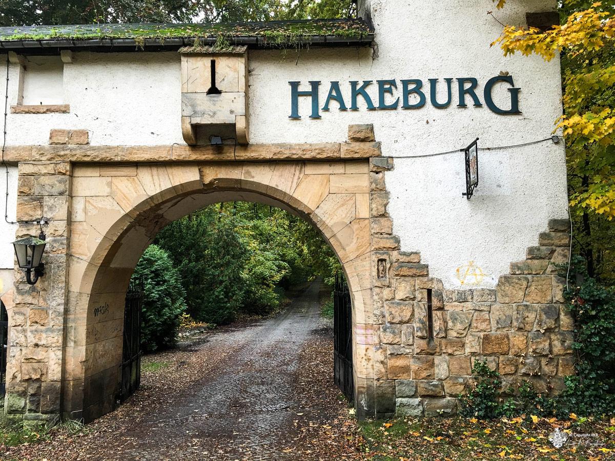 Hakeburg Toreinfahrt