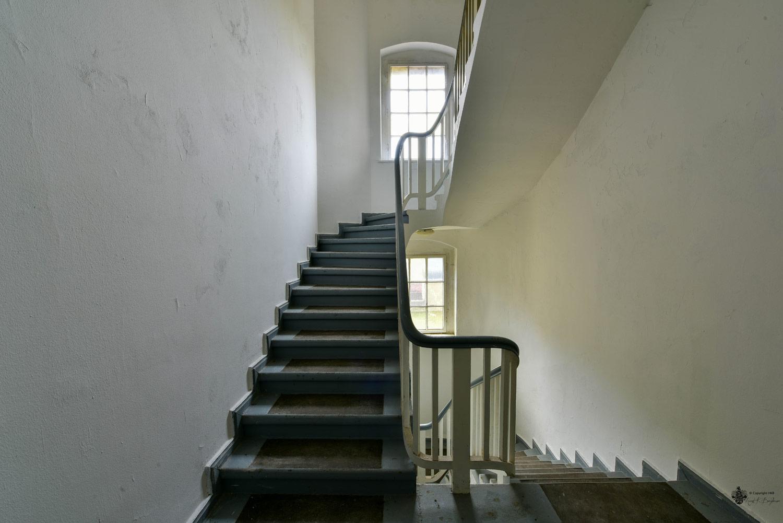 Neue Hakeburg Treppenhaus