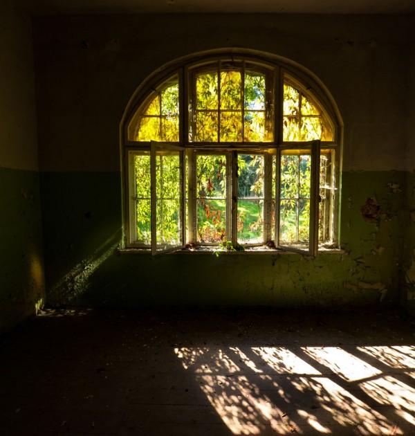 Fenster Spiegelung Hohenlychen