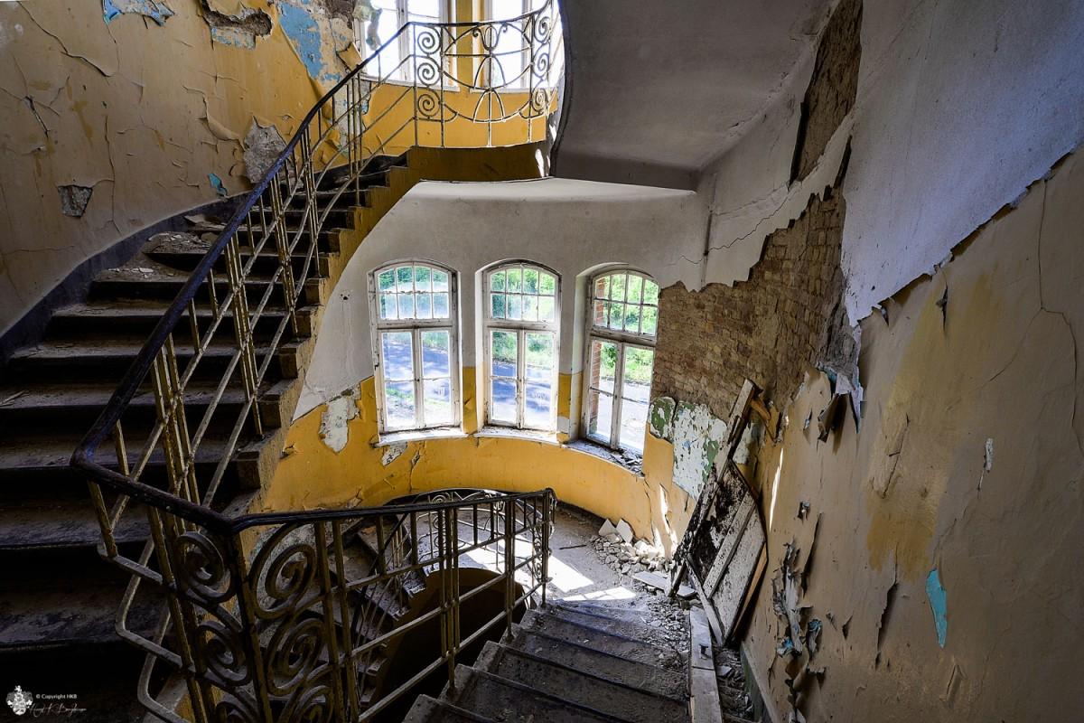 Treppenhaus Heilstätten Hohenlychen