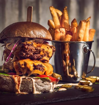 Food-Fotografie Grindhouse Burger