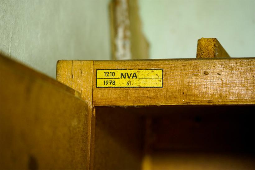 Honecker Bunker - NVA Label