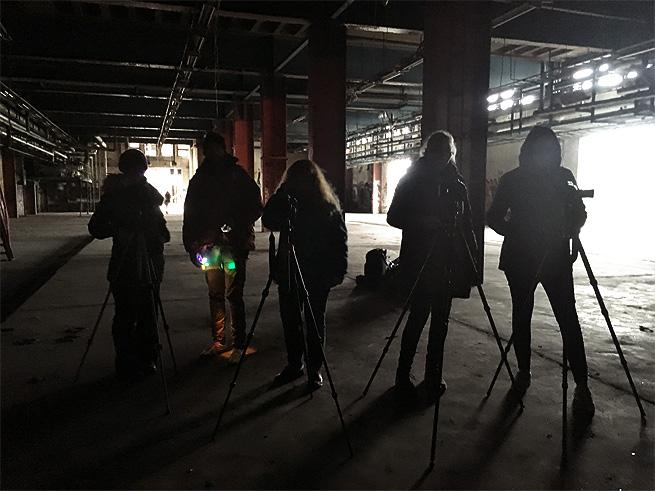 Light Painting Workshop - Teilnehmer