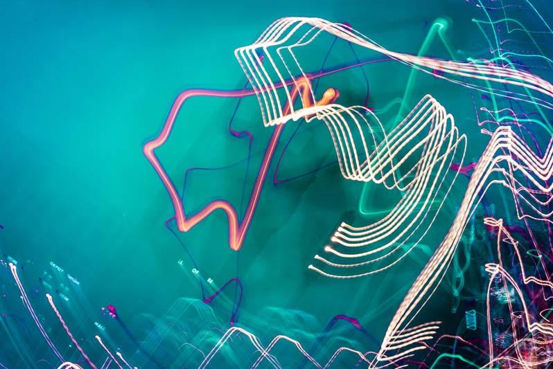 Experimentelle Blaue Stunde mit Anna Nesterenko