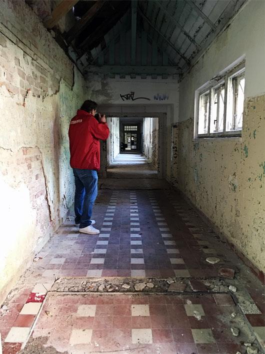 Heilstätten - Originaldrehort des Social-Media-Horrorfilms