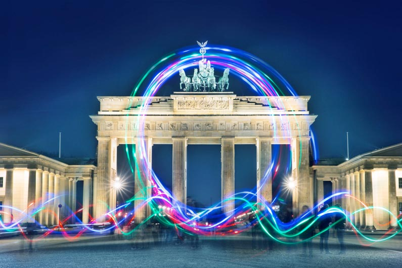 Light Painting Workshop - Brandenburger Tor