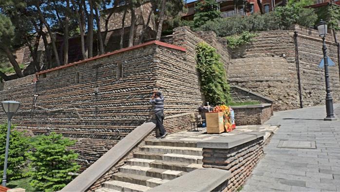 Altstadtmauer Tiflis