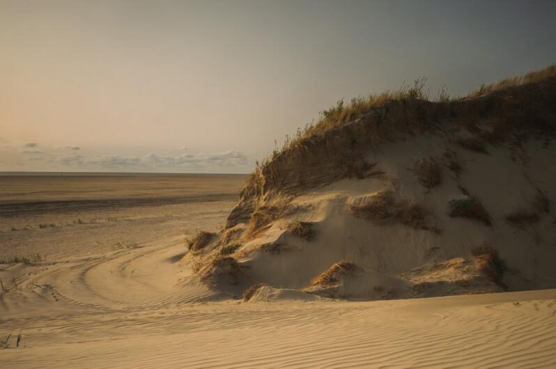 Dünen am Strand von Sankt Peter-Ording