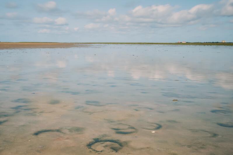 Wattenmeer von Sankt Peter-Ording