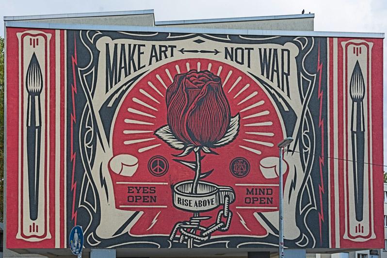 Fototour Streetart Berlin - Mural