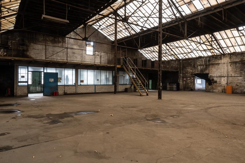 Eisengießerei Berlin Fabrikhalle - Copyright Gerd Weber