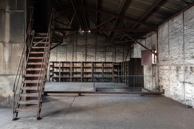 Lagerhalle der Eisengießerei Berlin - Copyright Gerd Weber